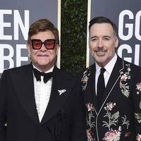 Sir Elton John unable to contain his delight after Golden Globes wins
