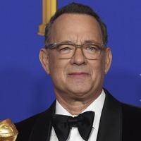 Emotional Tom Hanks reflects on glittering career during Golden Globes speech