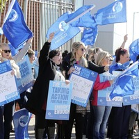 Midwives balloted on strike action as nurses prepare for further walkouts