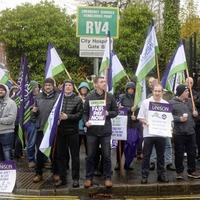 Unison's strike action escalates across the healthcare sector