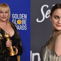Joey King shows off bruise after Patricia Arquette hit her with a Golden Globe