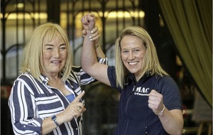 Cathy McAleer on the way to world title within two years says new manager Kellie Maloney