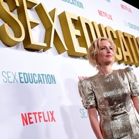Sex Education star Gillian Anderson praises the 'extraordinary' youth