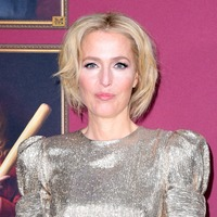 Gillian Anderson brings the glamour at Sex Education premiere