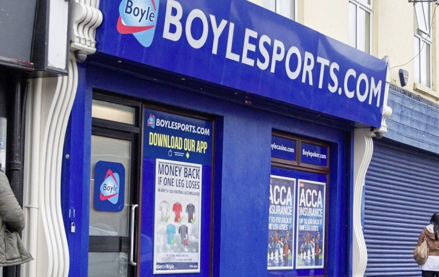 BoyleSports takes bet on William Hill shops in North