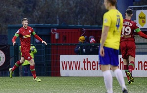 We always wanted both Ruaidhrí Donnelly and Michael McCrudden at Cliftonville - Paddy McLaughlin