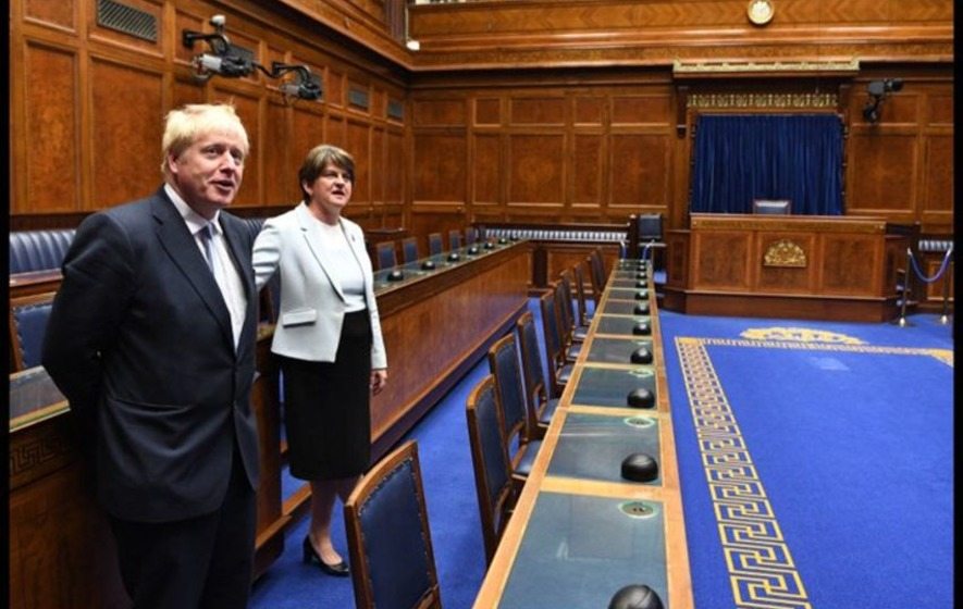Varadkar and Johnson due to visit Stormont