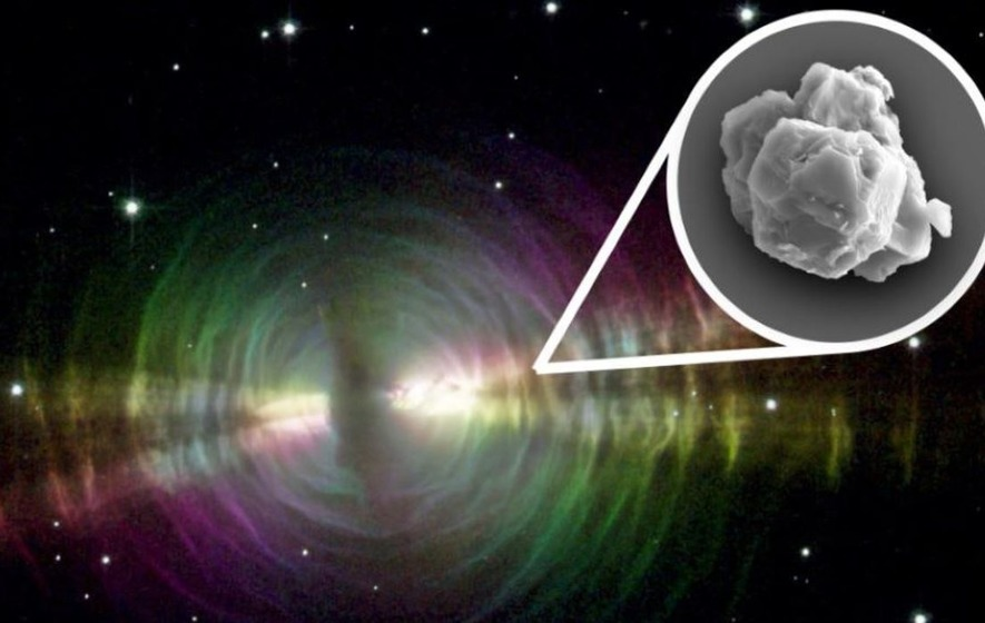 Seven-billion-year-old stardust in meteorite 'oldest solid material found'