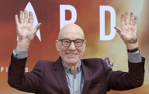 Sir Patrick Stewart cements his place in Hollywood