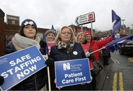 Health strikes suspended following Stormont talks