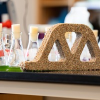 Scientists create 'living concrete' using sand, gel and bacteria