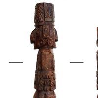 Pachacamac Idol statue's true colours finally revealed