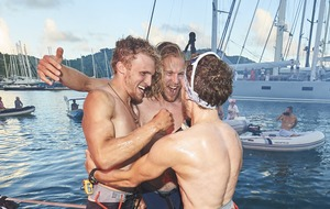 Scottish brothers beat Atlantic rowing record