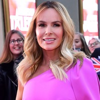 Amanda Holden pretty in pink at Britain's Got Talent auditions