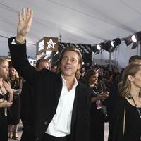 Brad Pitt delivers hilarious speech after winning a SAG Award