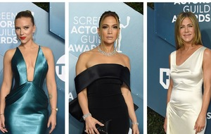 Scarlett Johansson, Jennifer Lopez and Jennifer Aniston lead SAG fashion