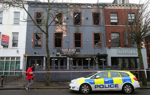 Police treat south Belfast restaurant fire as arson