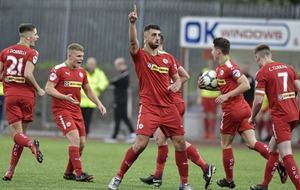 Glentoran will keep chasing the best despite Cliftonville 'no' to Joe Gormley transfer bid