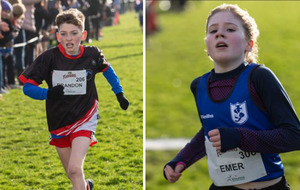 Emer McKee and Brandon Downey win NI Primary School Cross Country League