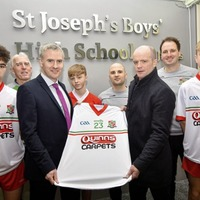Quinn's Carpets have it covered for St Joseph's, Newry