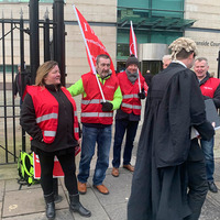 Civil servants 'fed up' as workers walk out over pay row