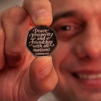 Chancellor unveils new commemorative Brexit 50 pence coin