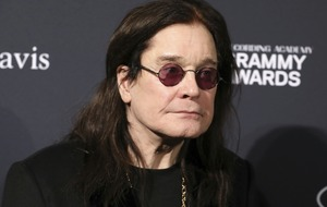 Ozzy Osbourne steps out at pre-Grammy gala after revealing he has Parkinson's