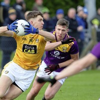 Galvin steps into the wilderness and Antrim take a first step out