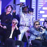 BTS make history while joining Lil Nas X on stage at the Grammys