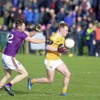 We had to shake off the nerves says returning Antrim's Peter Healy
