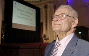 Holocaust survivor warns Belfast audience that lessons must be learned from genocide