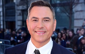 David Walliams pictured rehearsing for National Television Awards