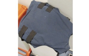 The bulletproof vest that saved republican Paul Fitzpatrick