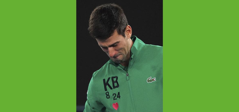 Djokovic Pays Emotional Tribute To Kobe Bryant After Beating Ranonic The Irish News