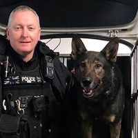 Police dog finds wedding ring - after man threw it away following argument with wife