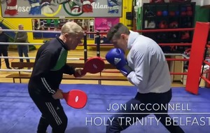 Boxing video: John McConnell among Ireland's rising boxing stars facing final challenges