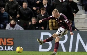 Liam Boyce on the road and ready for Hearts challenge