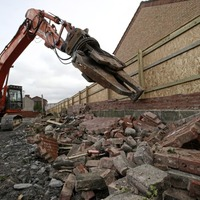Peace wall demolished in north Belfast