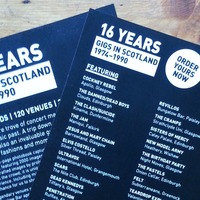 Book recounting gigs in Scotland close to hitting crowdfunding target