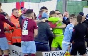 Brawl breaks out at end of Ballymena's Irish Cup win over Warrenpoint