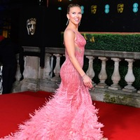 Pink brings welcome splash of colour to Bafta red carpet