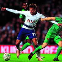 Dele Alli has no tackling advice for Raheem Sterling
