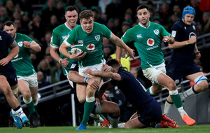 Injury forces Ireland centre Garry Ringrose out of Wales and England clashes
