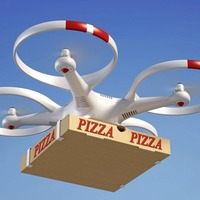 Take-away could soon be on your doorstep in just three minutes - via drone