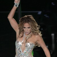 Jennifer Lopez shares video showing moments before her Super Bowl performance