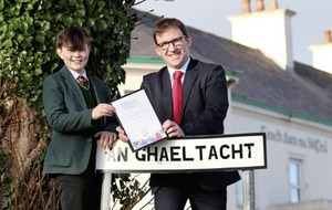 West Belfast boy (13) receives top GCSE Irish prize after achieving A* grade during cancer battle