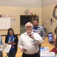 Watch: Coin tosses decide democracy in Iowa Democratic caucuses