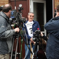 Father of man found dead at Michael Barrymore's home praises the media