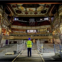 Grand Opera House unrecognisable as renovation work begins