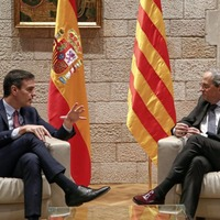 Formal talks with Catalonia to start this month says Spanish prime minister Pedro Sanchez